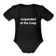 Baby Bodysuits ~ Baby Short Sleeve One Piece ~ Suspended