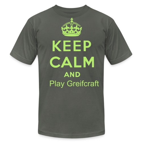 Keep Calm And Play Greifcraft (T-shirt) - Men's Fine Jersey T-Shirt