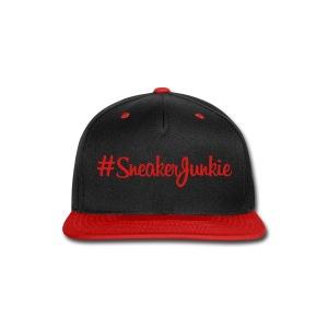 Sneaker Junkie - Snap-back Baseball Cap