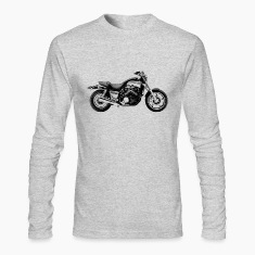 Vintage Motorcycle Long Sleeve T-shirt - Vmax |