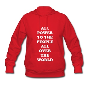 POWER TO THE PEOPLE - Women's Hoodie