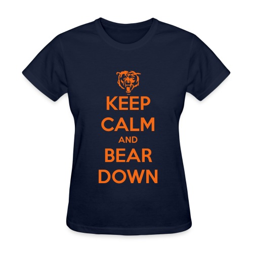 Women's Keep Calm Bears Tshirt - Women's T-Shirt