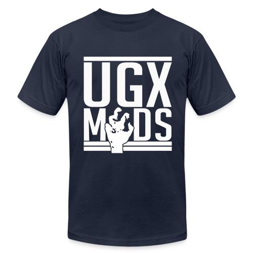Stencil Logo - Men's  Jersey T-Shirt