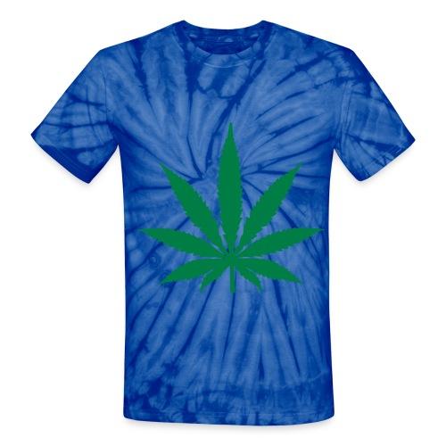Weed Tie Dye Shirt - Unisex Tie Dye T-Shirt