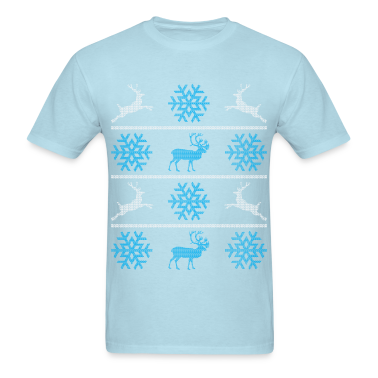 Deers and snowflakes T-Shirts