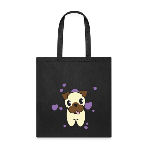 Aurora the Pug - Tote Bag