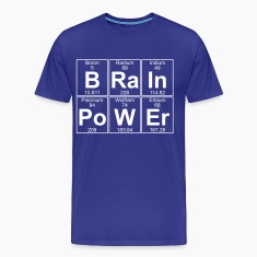 B-Ra-In-Po-W-Er (brainpower) - Full T-Shirts