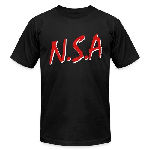 NSA_Men - Men's Fine Jersey T-Shirt