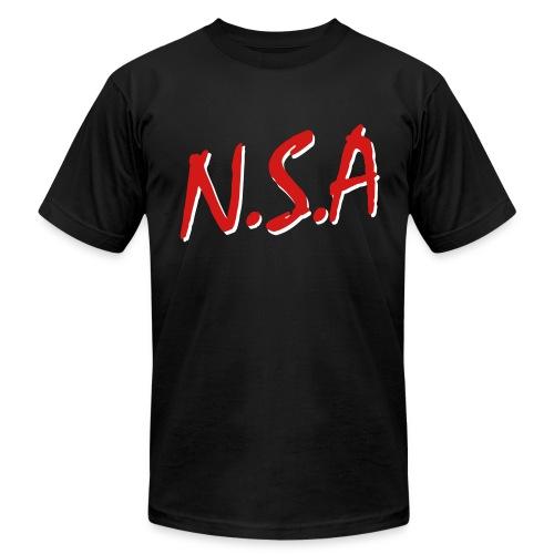 NSA Mens AmerAppl - Men's Fine Jersey T-Shirt