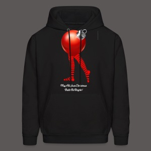 CHRISTMAS BALLS BE BRIGHT - Men's Hoodie
