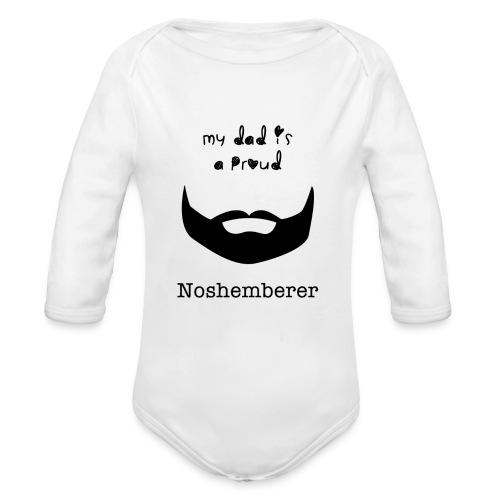 Baby's Noshemberer   - Organic Long Sleeve Baby Bodysuit