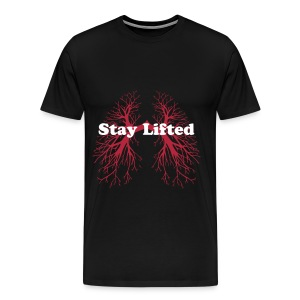Baked apparel stay lifted tshirt - Men's Premium T-Shirt