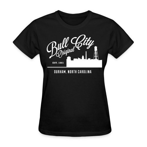 Womens Bull City Original Skyline - Women's T-Shirt