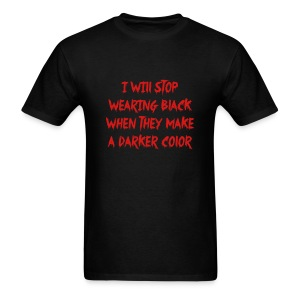 Stop Wearing Black - Men's T-Shirt