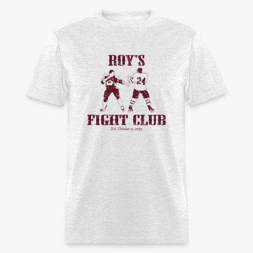 Roy's Fight Club - Burgundy - Mens T-Shirt - Men's T-Shirt