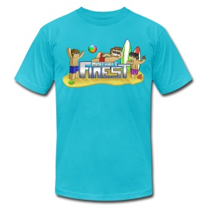 Finest Summer! - Men's T-Shirt by American Apparel