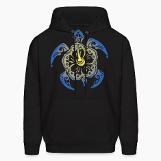 Tribal Turtle Hoodies