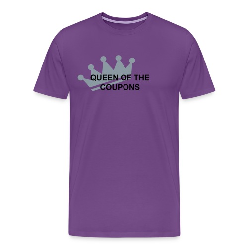 Queen of the Coupons - Men's Premium T-Shirt