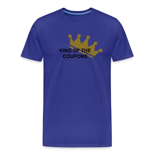 King of the coupons - Men's Premium T-Shirt