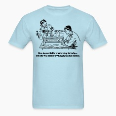 Sally Can't Science T-Shirts