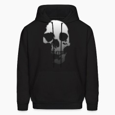 Gradient Skull Hoodies