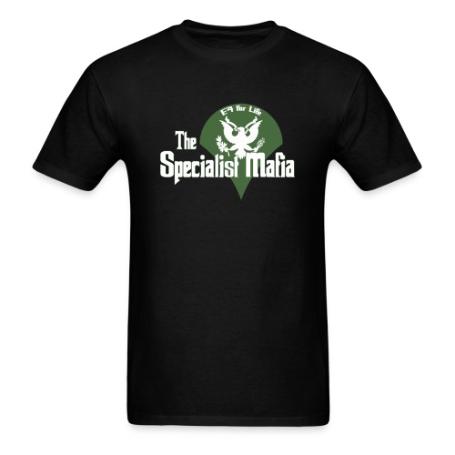 The Specialist Mafia front only - Men's T-Shirt