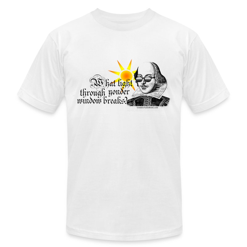 shakespearesun - Men's T-Shirt by American Apparel