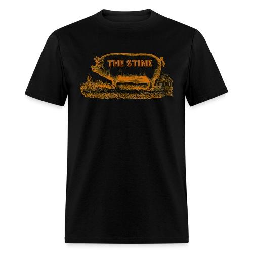 The Stink Brown Piggy T-Shirt! - Men's T-Shirt