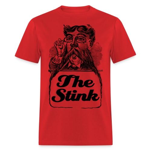 The Stink - Moustache Man Victorian T-Shirt! - Men's T-Shirt
