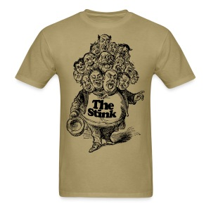 The Stink - Man With Many Heads - Victorian Era T-Shirt! - Men's T-Shirt
