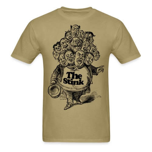 The Stink - Man With Many Heads - Victorian Era T-Shirt! - Men's T-Shirt