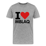 T-Shirts ~ Men's Premium T-Shirt ~ I HEART MBLAQ (Men's)