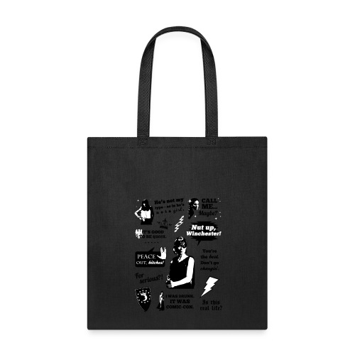 Charlie Quotes - Tote Bag