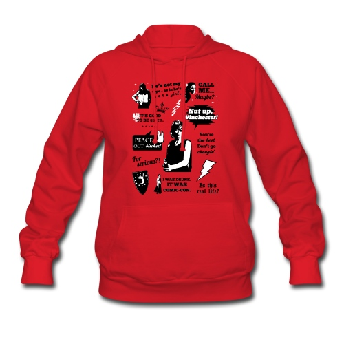 Charlie Quotes - Women's Hoodie