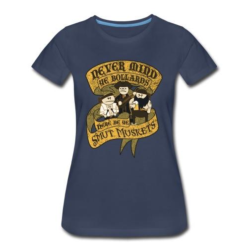 Never Mind Ye Bollards - Women's Premium T-Shirt