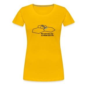 We Built This City - Women's Premium T-Shirt