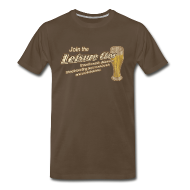 T-Shirts ~ Men's Premium T-Shirt ~ Join The Leisure Class