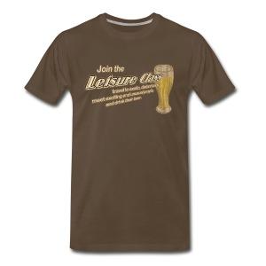 Join The Leisure Class - Men's Premium T-Shirt