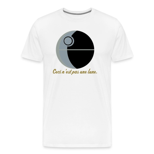 This is not a moon (The Treachery of the Empire) - Men's Premium T-Shirt
