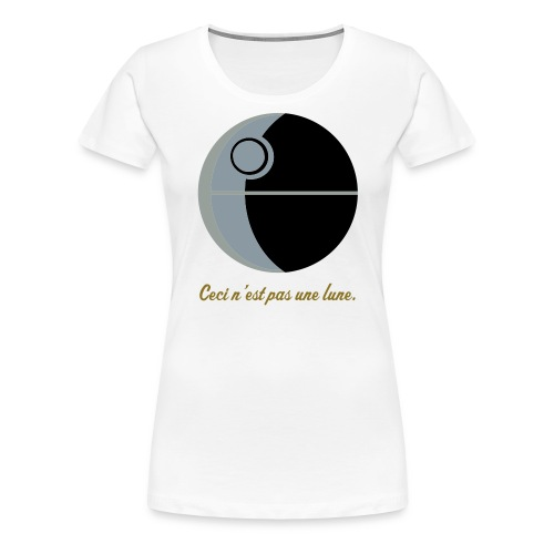 This is not a moon (The Treachery of the Empire) - Women's Premium T-Shirt