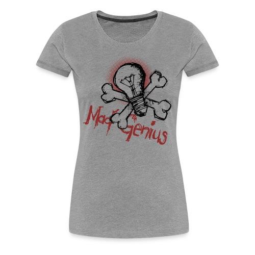 Mad Genius - Women's Premium T-Shirt