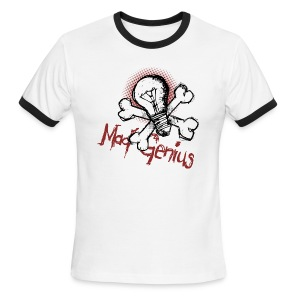 Mad Genius - Men's Ringer T-Shirt