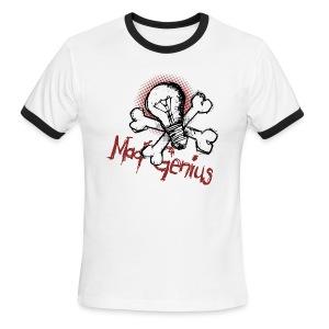 Mad Genius - Men's Ringer T-Shirt