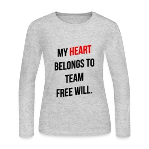 My Heart Belongs to TFW - Women's Long Sleeve Jersey T-Shirt
