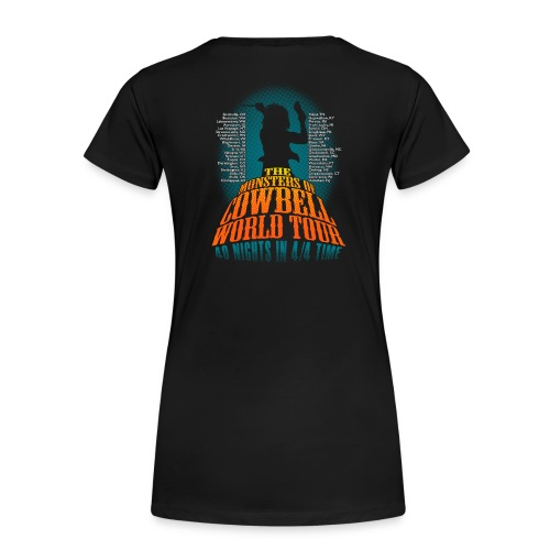 Monsters Of Cowbell - Women's Premium T-Shirt