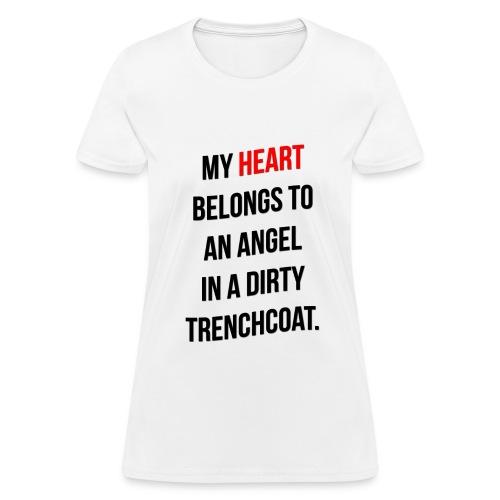 My Heart Belongs to Castiel - Women's T-Shirt
