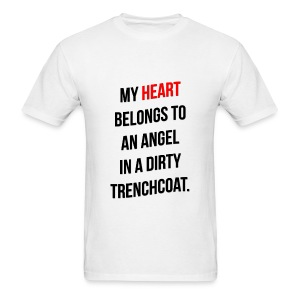 My Heart Belongs to Castiel - Men's T-Shirt