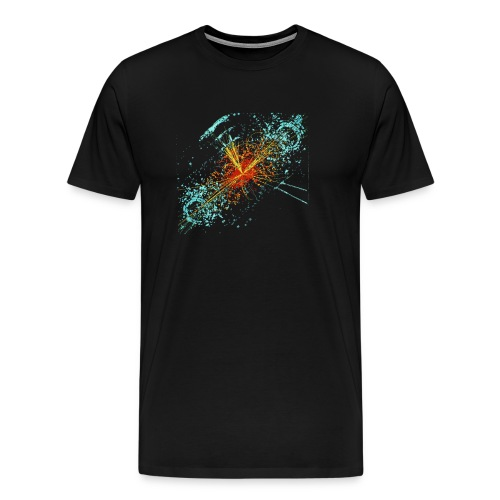Higgs Event Oil Paint - Men's Premium T-Shirt