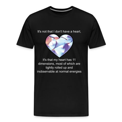 Calabi-Yau Heart - Men's Premium T-Shirt