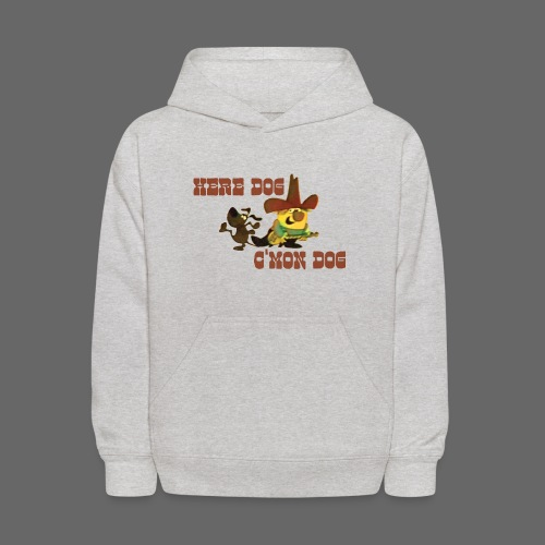 Here Dog, C'mon Dog - Kids' Hoodie